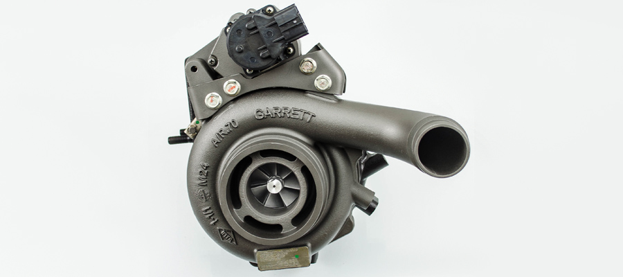 A Turbocharger Before and After Service